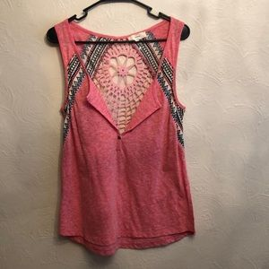 CNTRO Tank With Detailed Back Size M